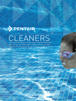 CLEANERS - Pentair Europe