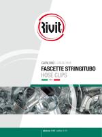 Catalogo fascette 1/15 2014