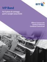 ViP Band- VerSione 1.0 - aPrile 14