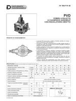 pompe a palette a cilindrata variabile con regolatore diretto 14 100