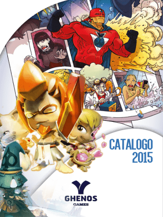 CATALOGO 2015 - Ghenos Games