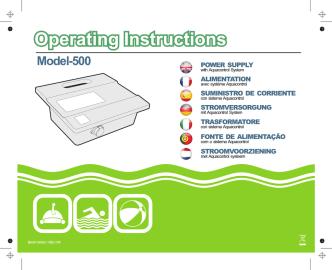 Aquacontrol model 500