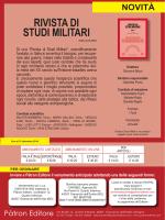 Il sommario - Societa Italiana Storia Militare