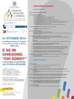 Programma - Gruppo CRC