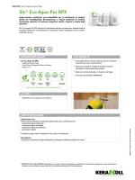Slc® Eco Aqua-Pur HPX - the Kerakoll products area