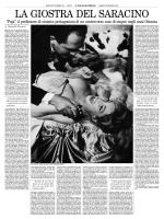 La giostra del Saracino, Il Foglio Quotidiano 28.5.11