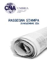 Rassegna stampa 25 novembre 2014