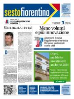 febbraio 2014 - Comune di Sesto Fiorentino