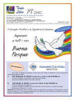 Circolare 4 - Cral Poste Mantova