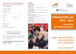 FORMAZIONE IAA 2013 - 2014 - Centro Referenza Nazionale Pet