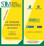 Scarica il programma 2014/2015 - Società del Teatro e della Musica