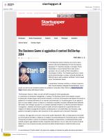 The Business Game si aggiudica il contest BeStartup 2014