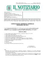 N. 1-6 Gennaio-Giugno - Confagricoltura Pisa