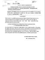 inps sede di agrigeimto pubblicazione degli elenchi nominativi dei