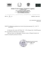 """Decreto + graduatoria - Istituto Tecnico Nautico """"Caio Duilio """""""