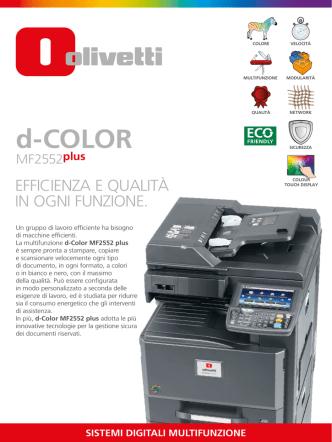 d-COLOR - Olivetti