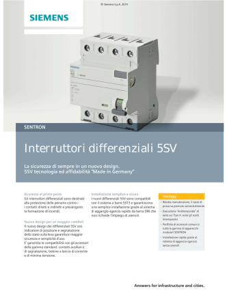 Brochure 5SV