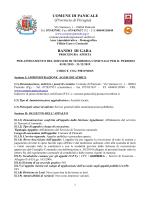 COMUNE DI PANICALE (Provincia di Perugia) BANDO DI GARA