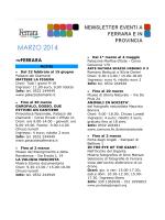 Newsletter 03.2014 - Campeggio Comunale Estense, Home