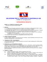 IDR SELEZIONE 420 - Circolo Nautico Vela Viva
