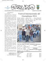 maggio 2014 - Liceo Scientifico G. Marinelli