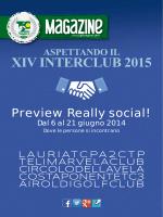 aspettando il xiv interclub 2015