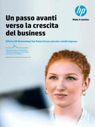 Brochure di HP Networking