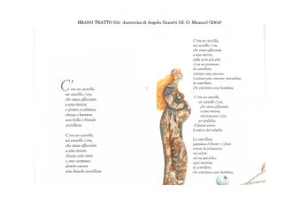 BRANO TRATTO DA: Azzurrina di Angela Nanetti (ill. O. Monaco