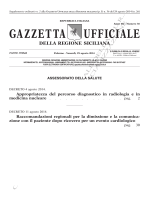 N. 36 - Venerdì 29 Agosto 2014 - Gazzetta Ufficiale della Regione