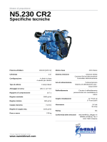 Nanni marine engine Brochure N5.230 CR2