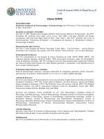 CorsI di Laurea DELLA ClassI lm-13 E L-29 Diana CONTE