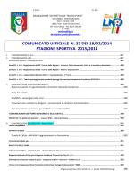 C.U. n.33 2013 2014