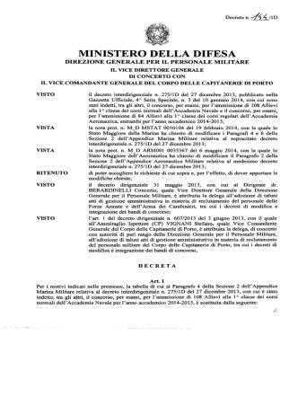 Decreto Interdirigenziale n. 144_1D_Modifica_Bando