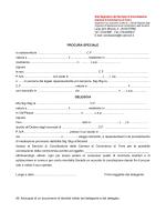PROCURA SPECIALE - CCIAA di Terni