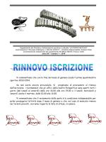 Ritmica News n.1 - Polisportiva Pontevecchio