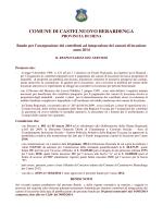 bando contributi canoni 2014 - Comune di Castelnuovo Berardenga