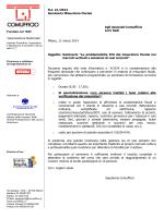 NI 21/2014 Seminario Misuratore Fiscale Agli Associati Comufficio