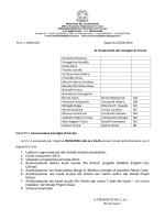 Convocazione Consiglio di Circolo del 29.04.2014
