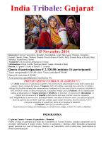 India Tribale: Gujarat - Centro Turistico Acli