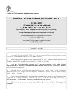 Expo 2015 - Diocesi di Bergamo