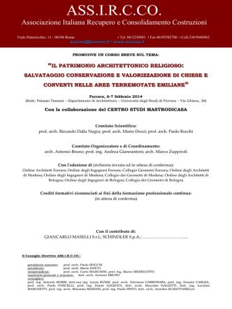 ASS.I.R.C.CO. - Fondazione Professione Architetto