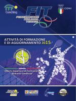 brochure 2015 - Federazione Italiana Tennis