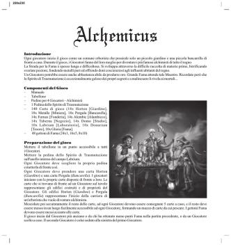 Alchemicus - La Tana dei Goblin