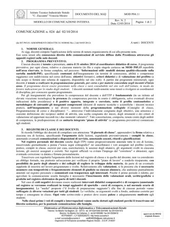 circ_024 Adempimenti e Norme Docenti
