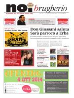 Don Giussani saluta Sarà parroco a Erba COLPA