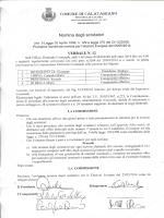 Nomina degli scrutatori - Comune di Calatabiano
