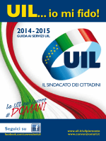 """UIL """"Io mi Fido!"""" - Convenzioniuil.it"""