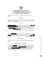 Revoca totale D.I. della banca per € 460.000,00