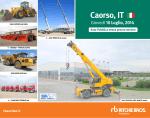 Caorso, IT 10 Luglio, 2014