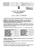 N. 40 del 19.09.2014 Riconoscimento debito fuori bilancio n. 1 del